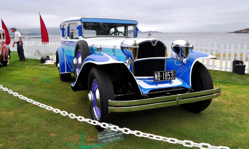 Pebble Beach 2014 Concours Lawn - RUXTON Marque Showcase 11