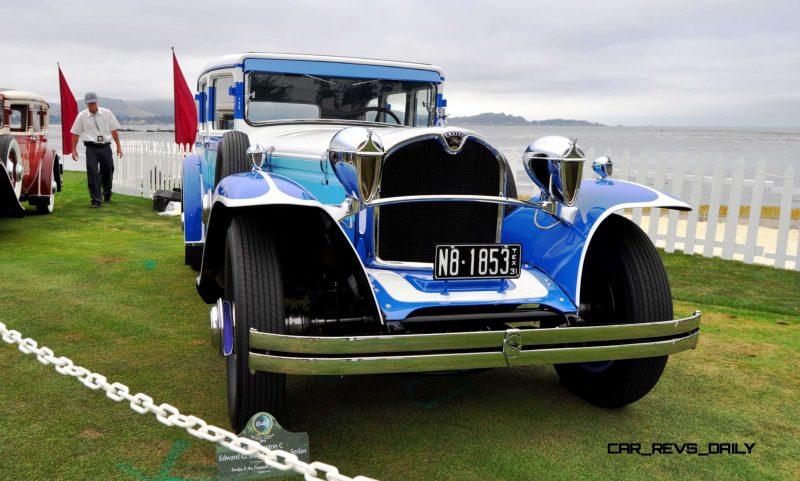 Pebble Beach 2014 Concours Lawn - RUXTON Marque Showcase 12