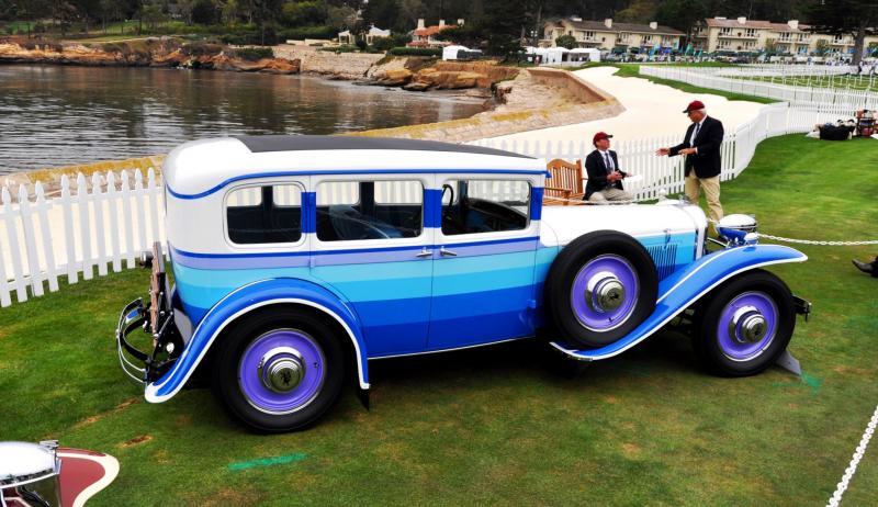 Pebble Beach 2014 Concours Lawn - RUXTON Marque Showcase 18
