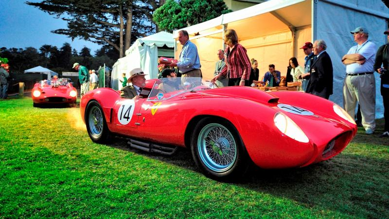 Pebble Beach 2014 - Ferrari Testa Rossa 1