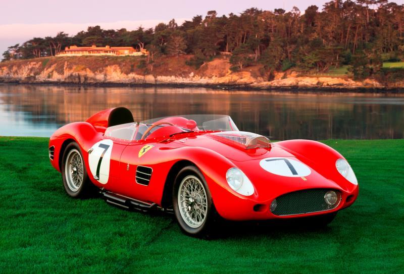 Pebble Beach 2014 - Ferrari Testa Rossa 8
