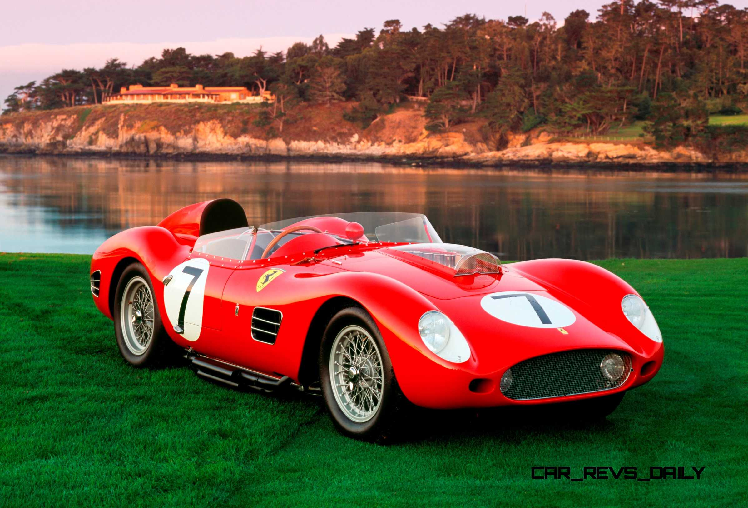 Rally Car Racing >> Pebble Beach 2014 - Ferrari Testa Rossa Showcase
