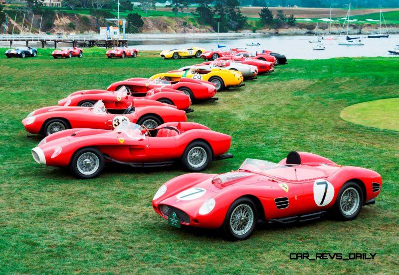 Pebble Beach 2014 - Ferrari Testa Rossa 9