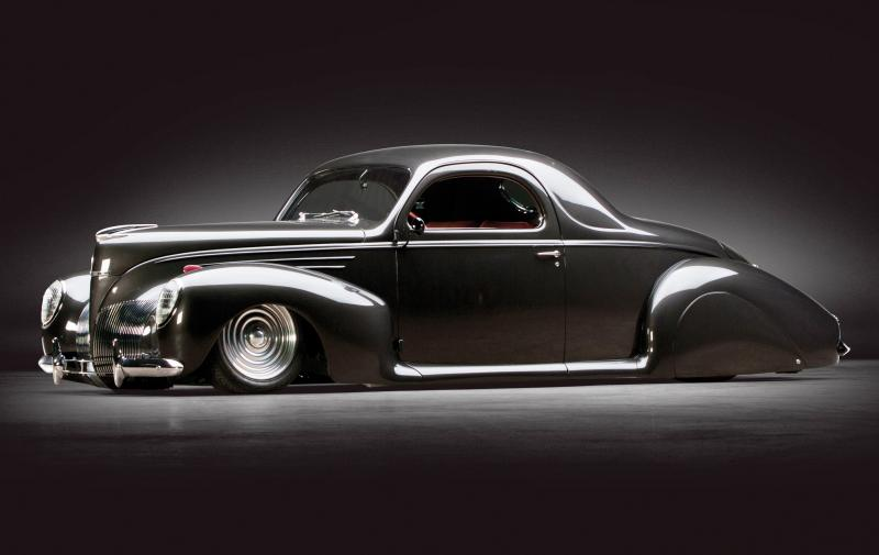 RM Dallas Preview - 600HP V12 1939 Lincoln Zephyr Coupe 1
