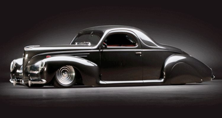 RM Dallas Preview - 600HP V12 1939 Lincoln Zephyr Coupe GIF