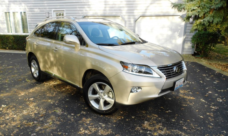 Road Test Review - 2015 Lexus RX350 AWD  14