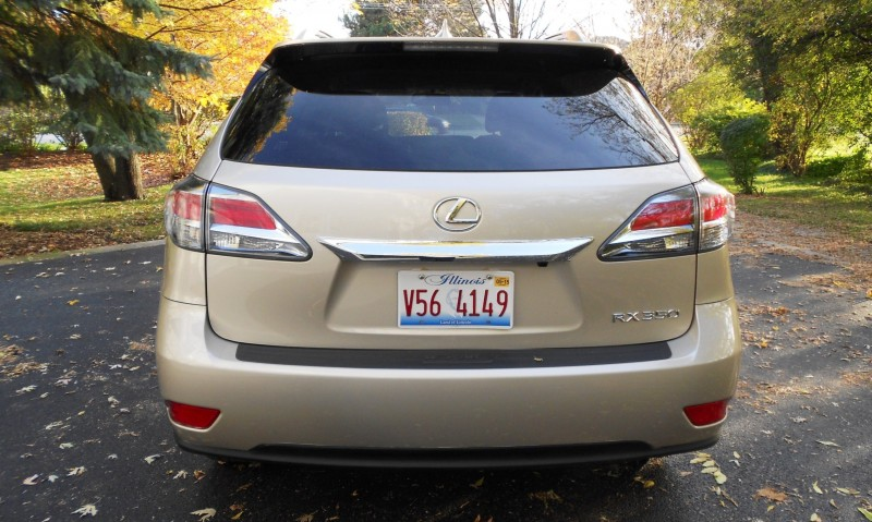 Road Test Review - 2015 Lexus RX350 AWD  16
