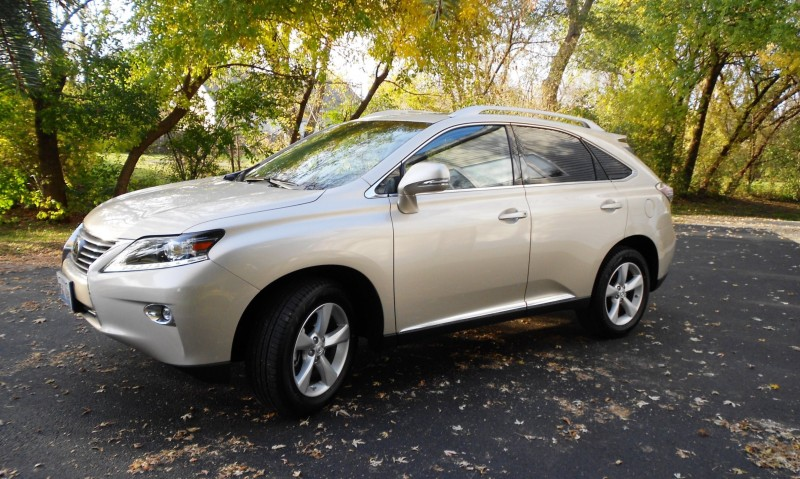 Road Test Review - 2015 Lexus RX350 AWD  18