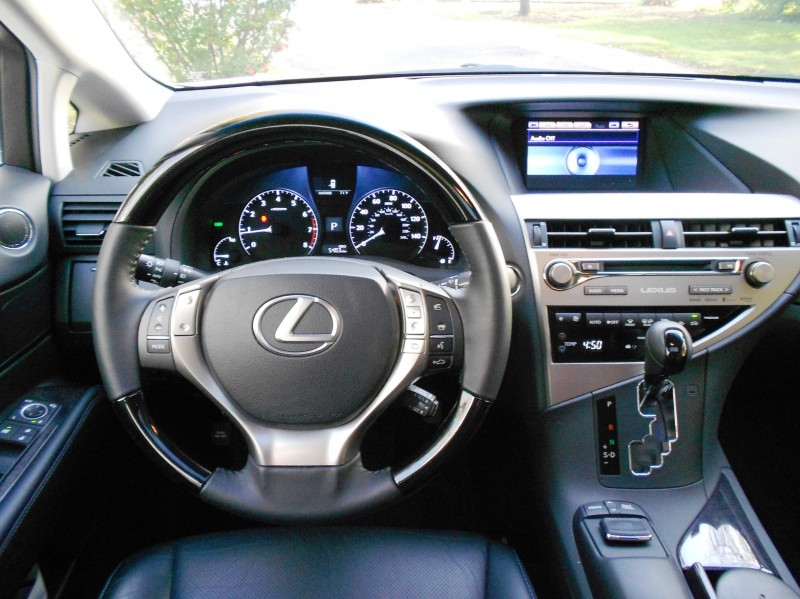 Road Test Review - 2015 Lexus RX350 AWD  19