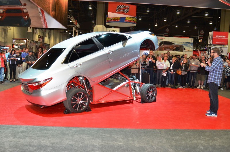 Sema 2014 Showfloor Photo Gallery The Cars