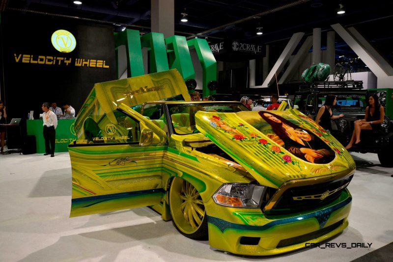 SEMA 2014 Showfloor - TRUCKS Photo Gallery 10