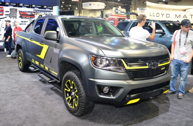 SEMA 2014 Showfloor - TRUCKS Photo Gallery  21