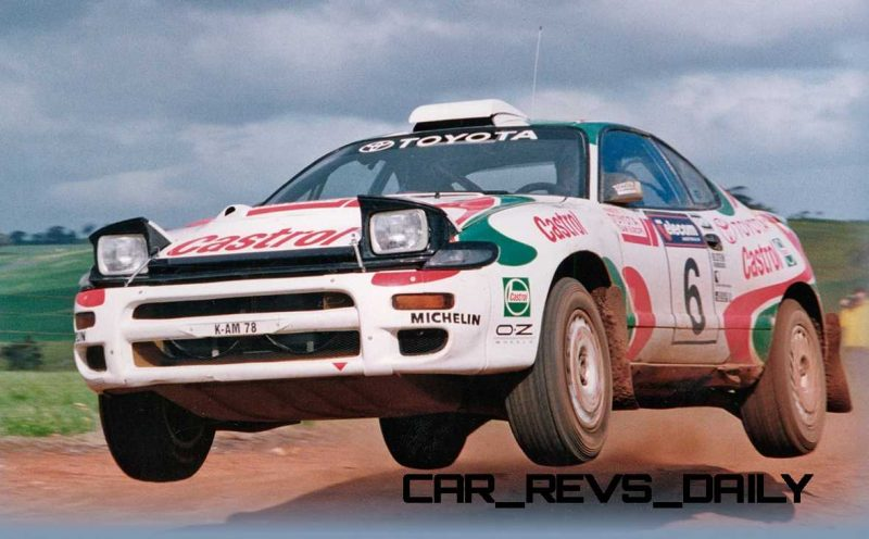 TOYOTA Rally Racing Hall of Fame - 101 AMAZING and RARE Photo Showcase 1