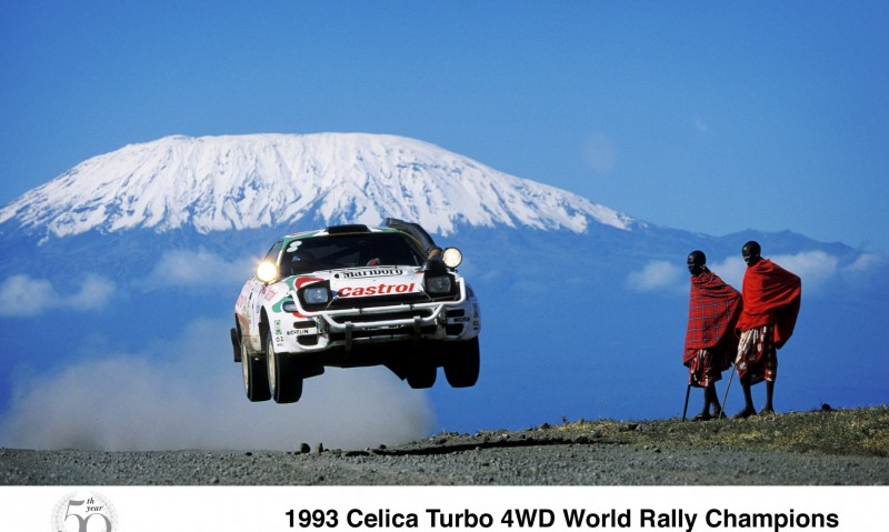 TOYOTA Rally Racing Hall of Fame - 101 AMAZING and RARE Photo Showcase 11
