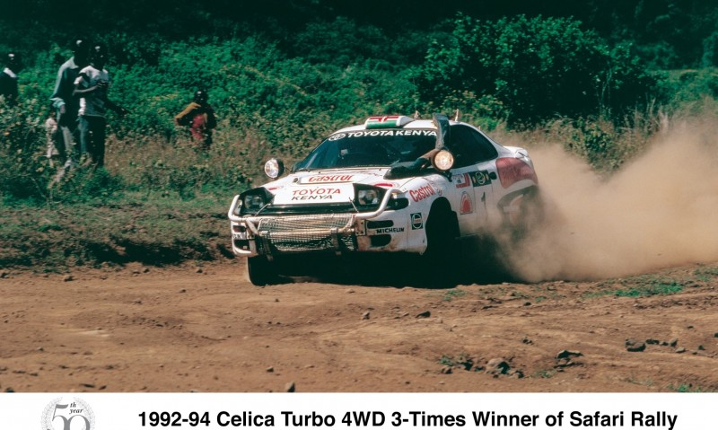 TOYOTA Rally Racing Hall of Fame - 101 AMAZING and RARE Photo Showcase 13
