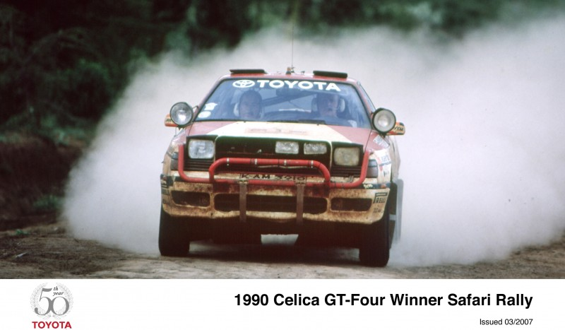TOYOTA Rally Racing Hall of Fame - 101 AMAZING and RARE Photo Showcase 2