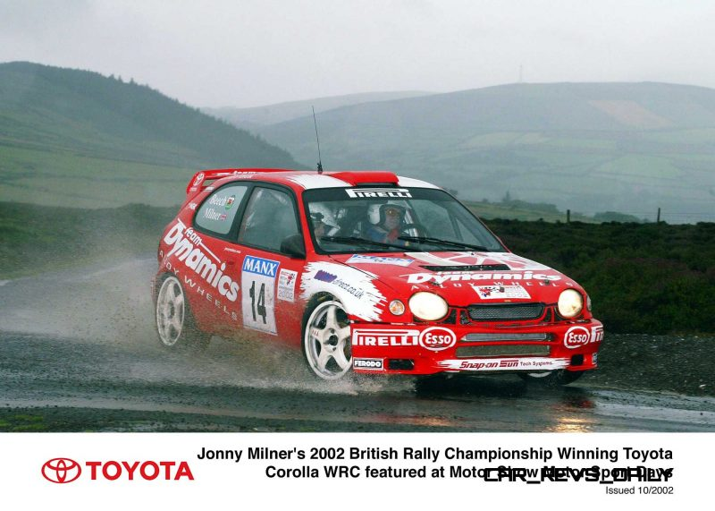 TOYOTA Rally Racing Hall of Fame - 101 AMAZING and RARE Photo Showcase 24
