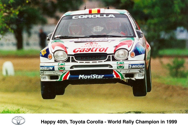 TOYOTA Rally Racing Hall of Fame - 101 AMAZING and RARE Photo Showcase 25