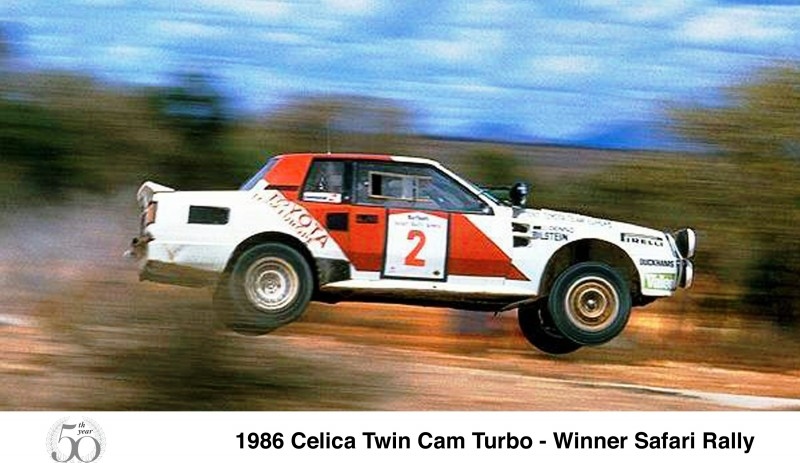 TOYOTA Rally Racing Hall of Fame - 101 AMAZING and RARE Photo Showcase 38