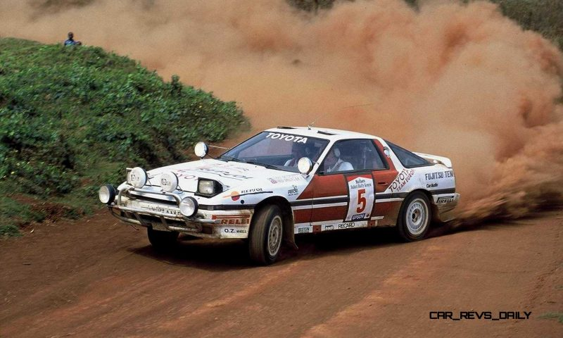 TOYOTA Rally Racing Hall of Fame - 101 AMAZING and RARE Photo Showcase 41
