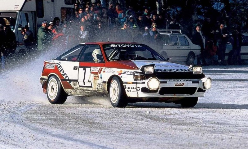 TOYOTA Rally Racing Hall of Fame - 101 AMAZING and RARE Photo Showcase 43