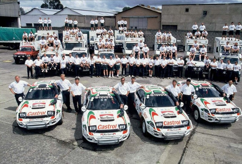 TOYOTA Rally Racing Hall of Fame - 101 AMAZING and RARE Photo Showcase 45