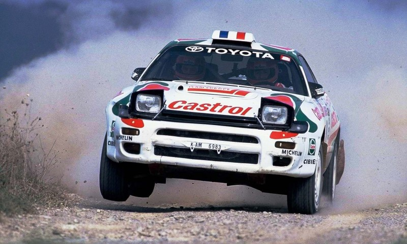 TOYOTA Rally Racing Hall of Fame - 101 AMAZING and RARE Photo Showcase 46