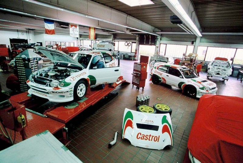 TOYOTA Rally Racing Hall of Fame - 101 AMAZING and RARE Photo Showcase 49