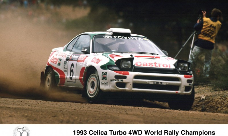 TOYOTA Rally Racing Hall of Fame - 101 AMAZING and RARE Photo Showcase 5