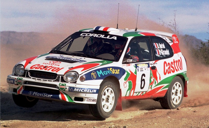TOYOTA Rally Racing Hall of Fame - 101 AMAZING and RARE Photo Showcase 60