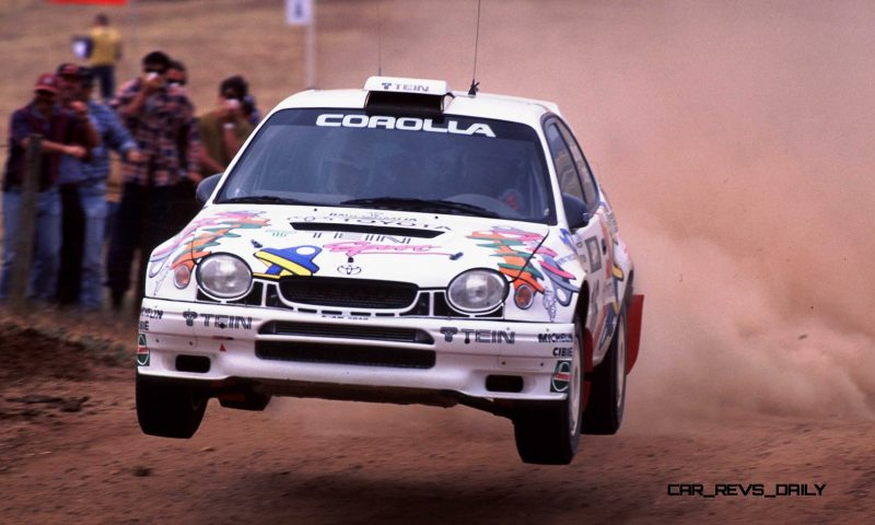 TOYOTA Rally Racing Hall of Fame - 101 AMAZING and RARE Photo Showcase 64