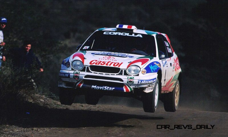 TOYOTA Rally Racing Hall of Fame - 101 AMAZING and RARE Photo Showcase 66