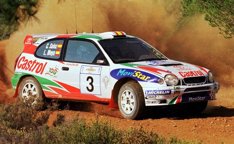 TOYOTA Rally Racing Hall of Fame - 101 AMAZING and RARE Photo Showcase 73