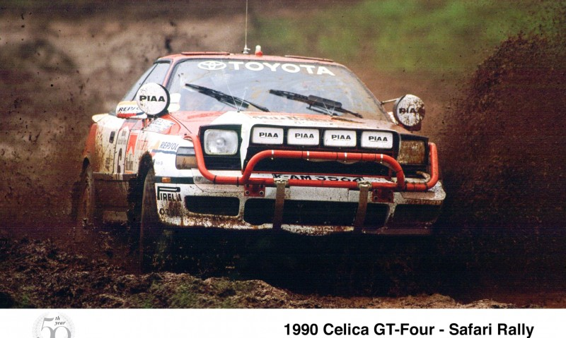 TOYOTA Rally Racing Hall of Fame - 101 AMAZING and RARE Photo Showcase 8