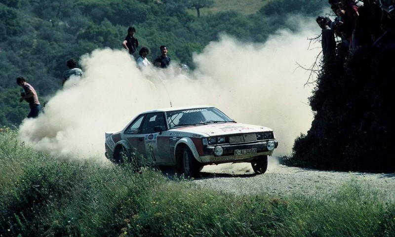 TOYOTA Rally Racing Hall of Fame - 101 AMAZING and RARE Photo Showcase 80