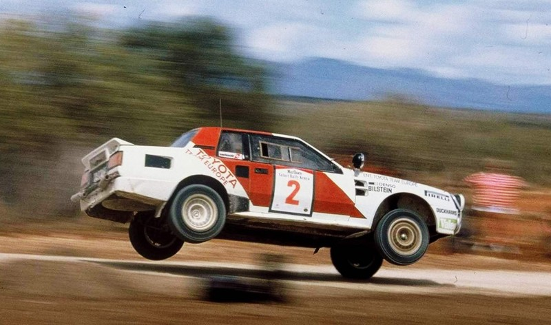 TOYOTA Rally Racing Hall of Fame - 101 AMAZING and RARE Photo Showcase 86