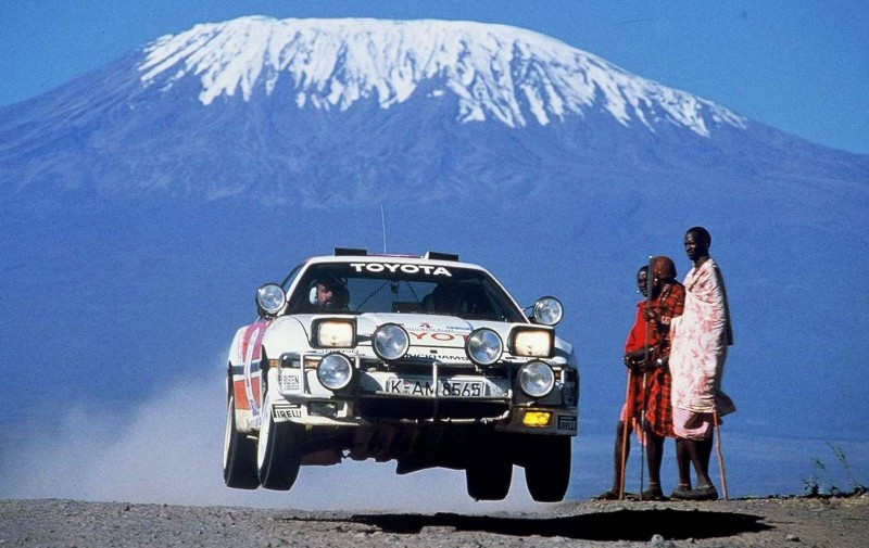 TOYOTA Rally Racing Hall of Fame - 101 AMAZING and RARE Photo Showcase 87