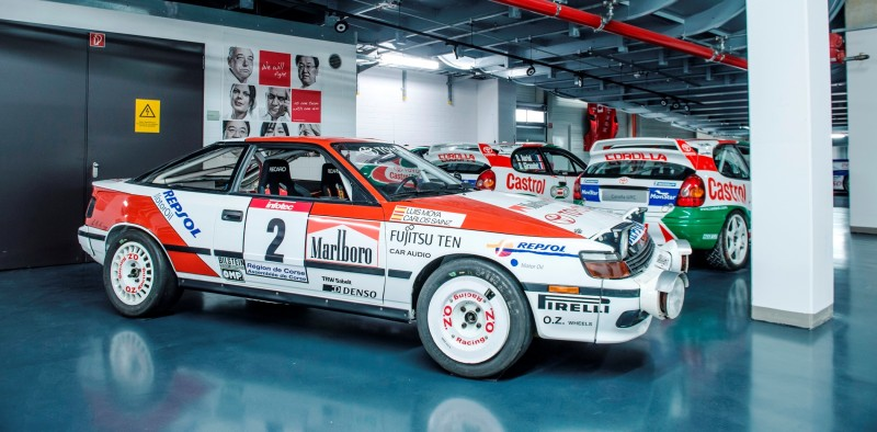 TOYOTA Rally Racing Hall of Fame - 101 AMAZING and RARE Photo Showcase 95