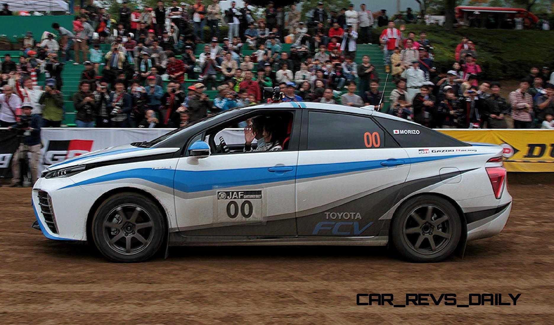 Toyota Mirai Rally Car