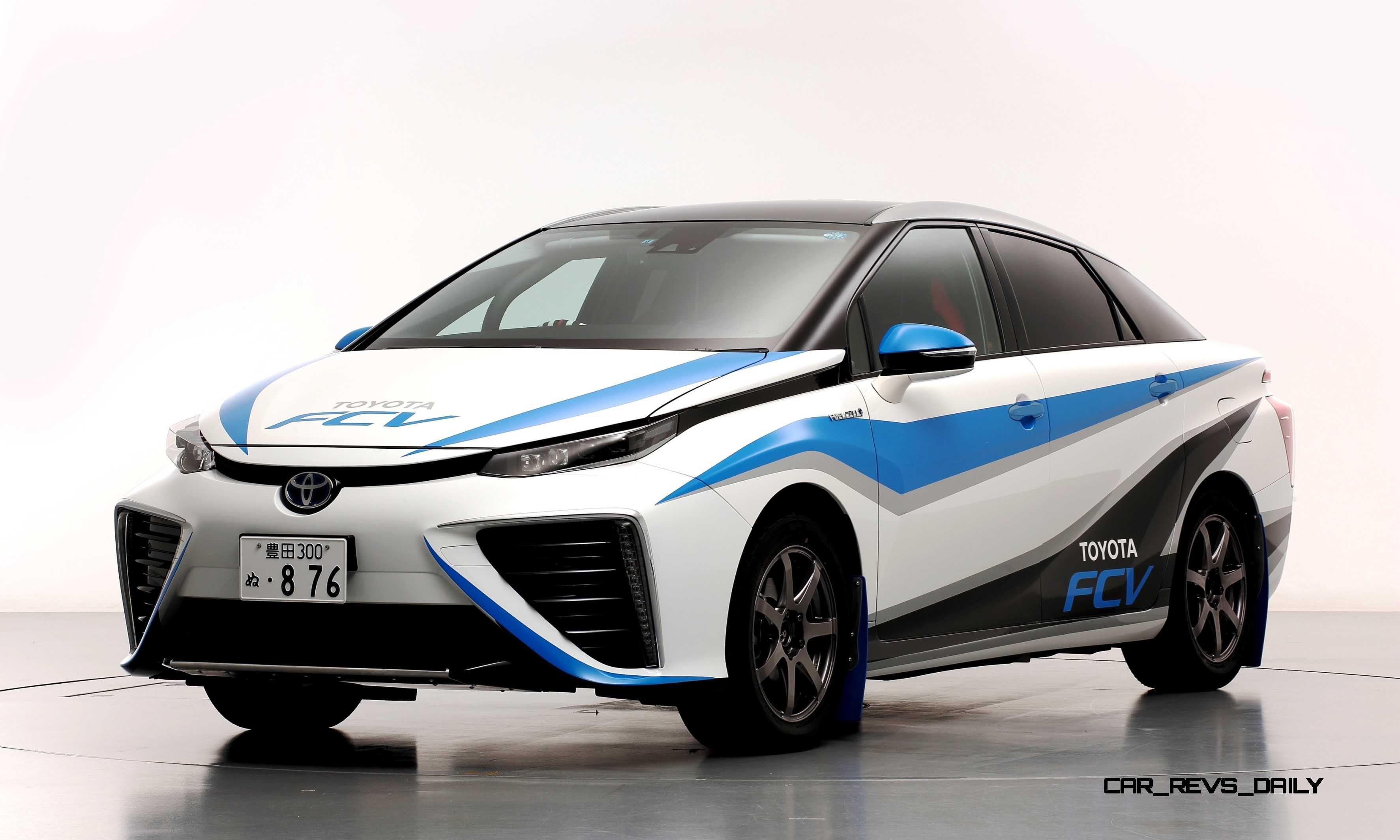 2016 Toyota Mirai Rally Car