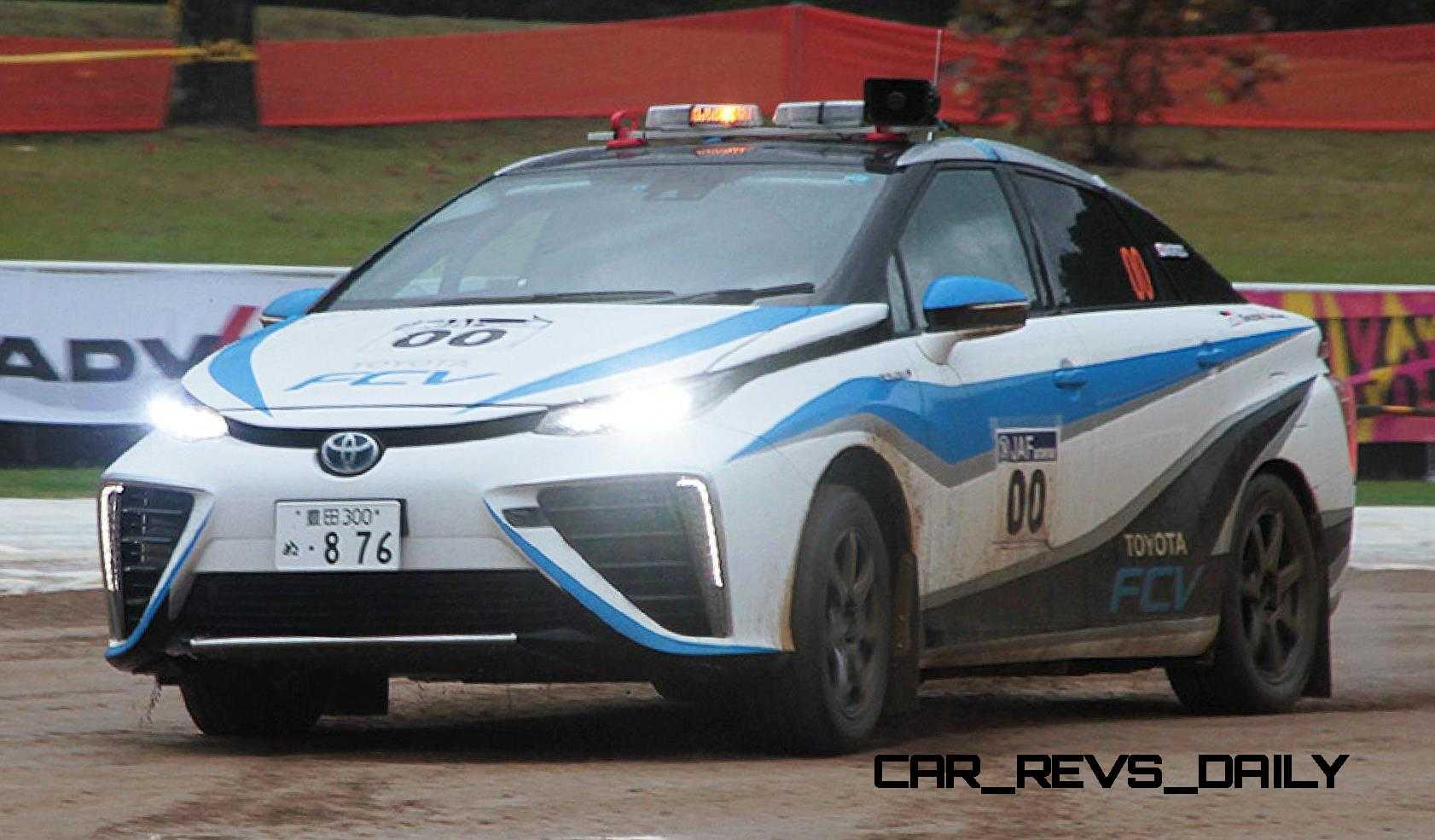2014 Toyota Camry Hybrid >> 2016 Toyota Mirai Rally Car