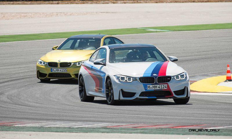 Track Drive Video - 2015 BMW M4 135