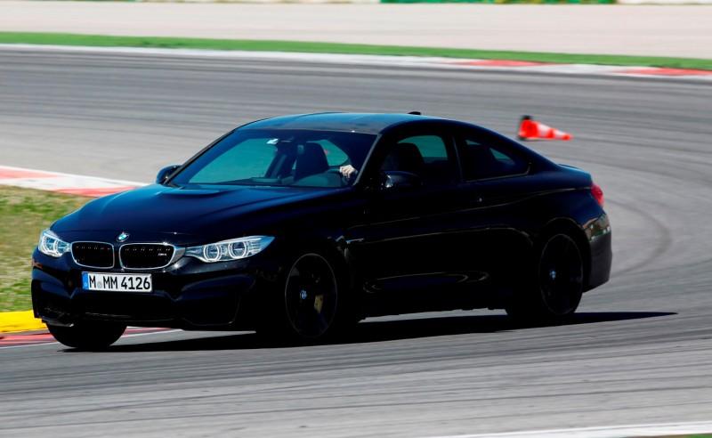 Track Drive Video - 2015 BMW M4 4