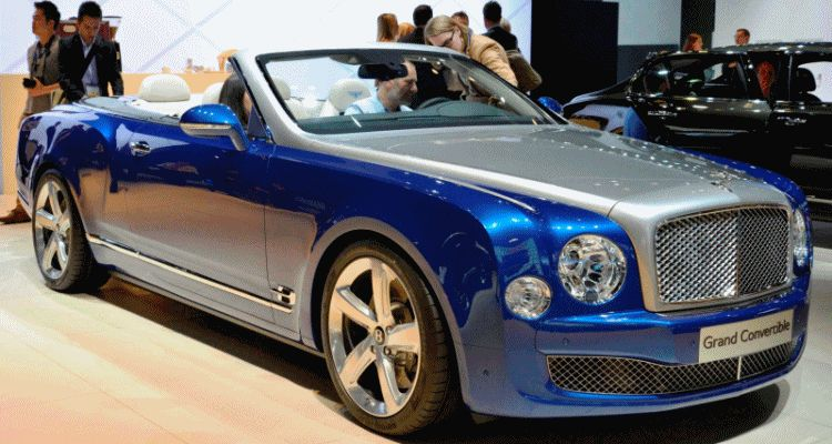 bentley grand convertible gif