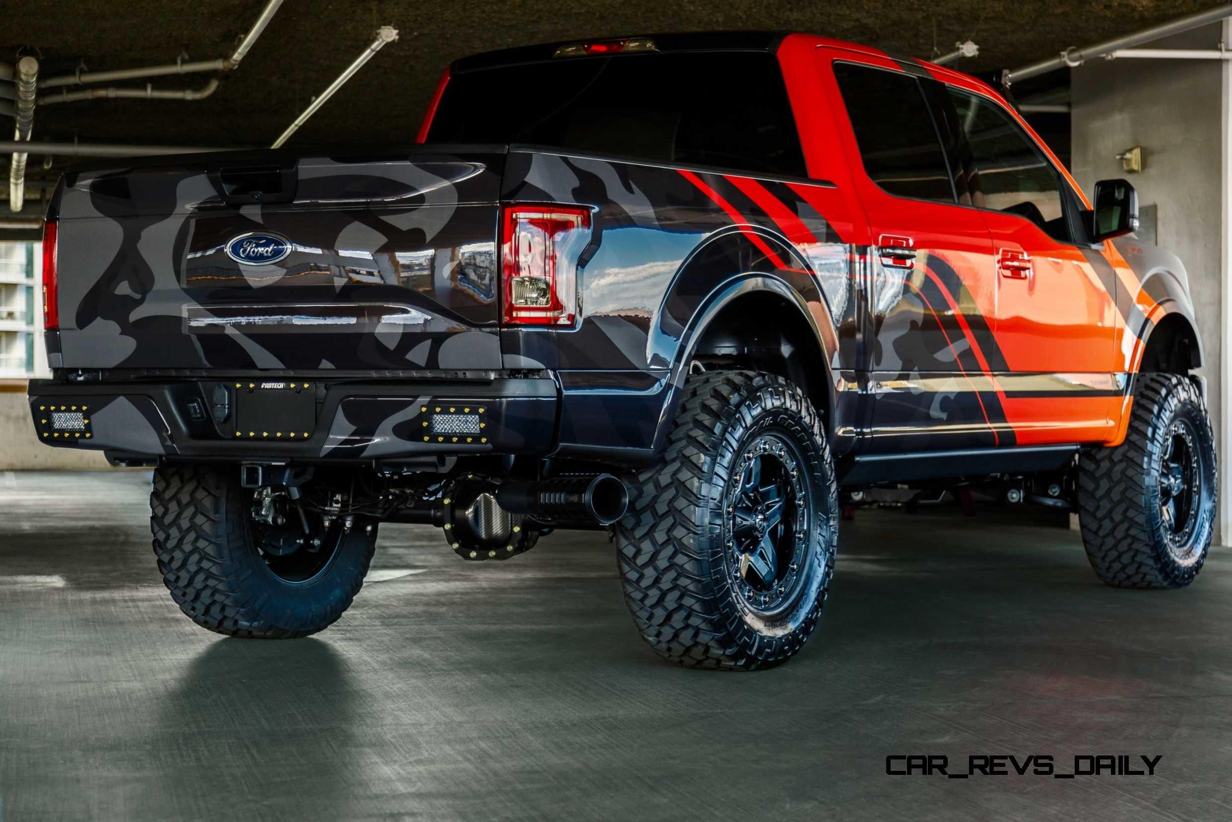 2015 Ford F 150 Show Trucks For Sema And La
