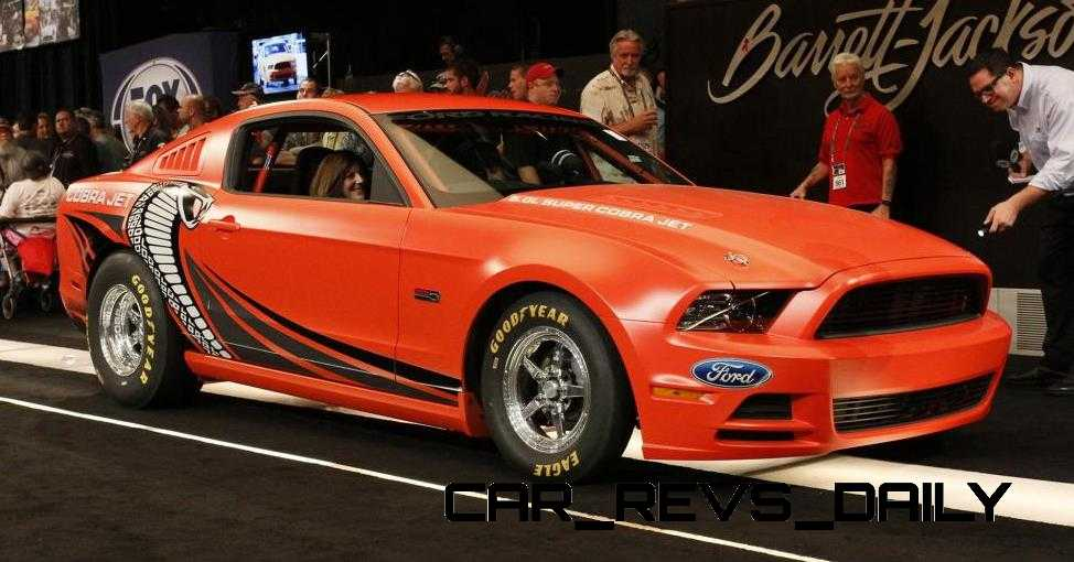 2015 Ford Mustang KING COBRA Is 625HP Factory-Parts Cobra