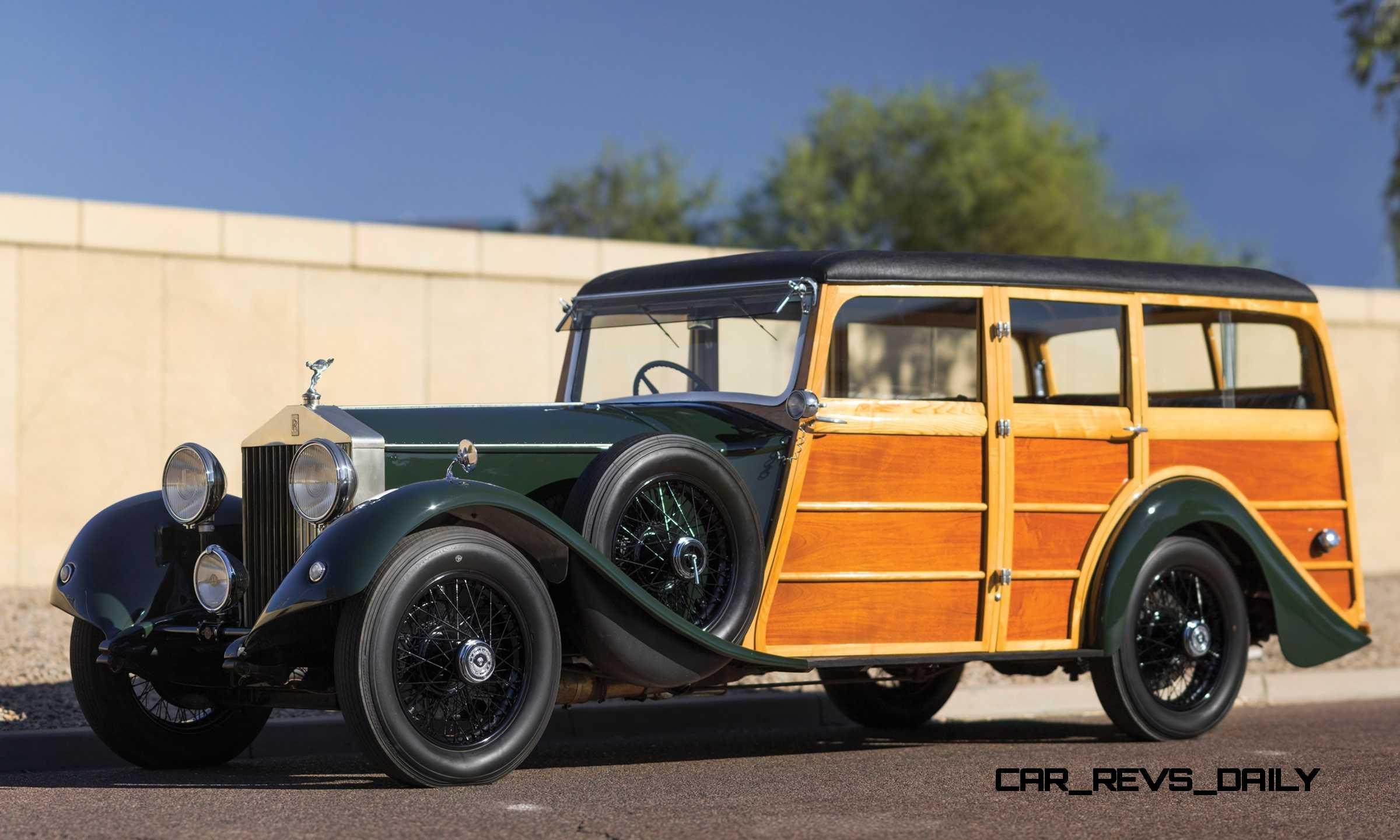 1930 Rolls Royce Phantom Ii Shooting Brake