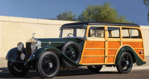1930 Rolls-Royce Phantom II Shooting Brake