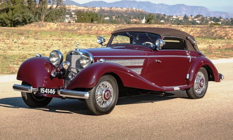 1937 Mercedes-Benz 540K Sport Cabriolet A by Sindelfingen 1