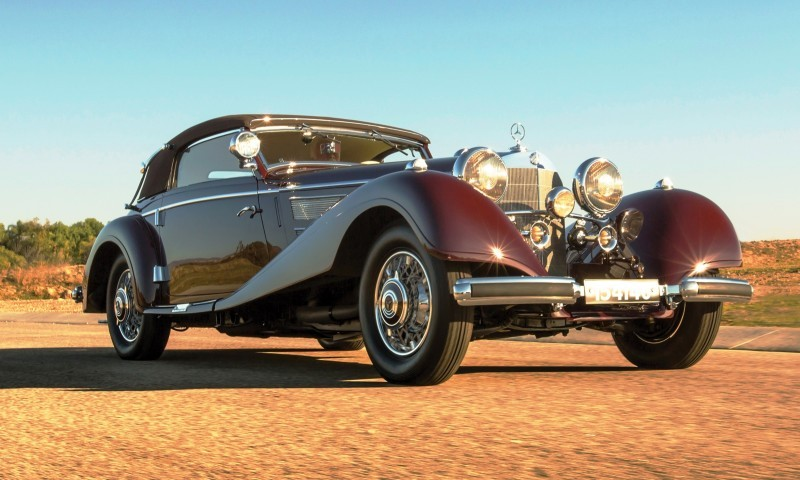 1937 Mercedes-Benz 540K Sport Cabriolet A by Sindelfingen 11